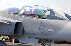 瑞典航空器JAS-39 Grippen 免版税库存图片