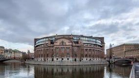 瑞典议会 图库摄影