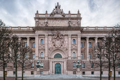 瑞典议会 免版税图库摄影