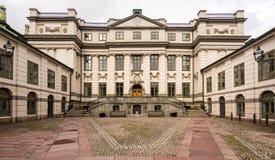 瑞典语最高法院在Bonde宫殿,斯德哥尔摩 免版税库存图片