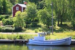 瑞典语的印象 免版税库存照片