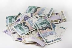 瑞典货币 库存图片