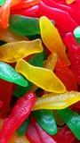 瑞典鱼糖果 库存照片