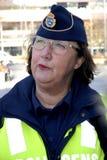 瑞典今天证实边防在NOO 图库摄影