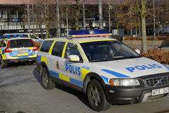 瑞典今天证实边防在NOO 库存照片