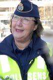 瑞典今天证实边防在NOO 免版税库存照片
