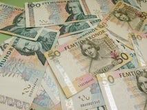 瑞典货币笔记 免版税图库摄影