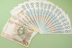 瑞典货币笔记 免版税库存图片