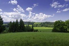 瑞士乡下 库存图片