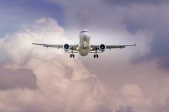 瑞士人空中客车A-320在马里博尔机场LJMB 库存照片