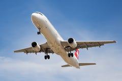 瑞士人空中客车A321 免版税库存图片