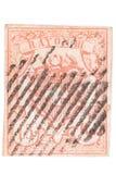 瑞士人造丝邮票 免版税库存照片