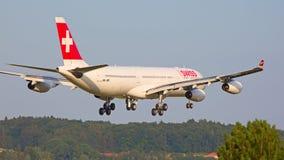 瑞士人A-340 免版税库存图片