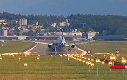 瑞士人A-320 免版税库存图片