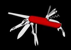 瑞士刀子 库存图片