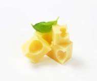 瑞士干酪乳酪 库存照片