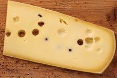 瑞士干酪乳酪(Emmentaler) 库存照片