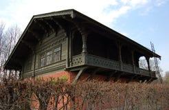 瑞士房子在公园Kuskovo, Sheremetev家庭的庄园 免版税库存图片