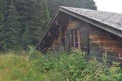 瑞士房子 库存照片