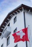 瑞士旅馆在罗卡拉索,阿布鲁佐,意大利 2017年10月13日 免版税库存图片