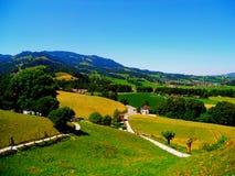 瑞士横向 免版税库存照片