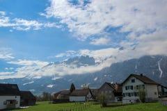 瑞士横向 库存图片
