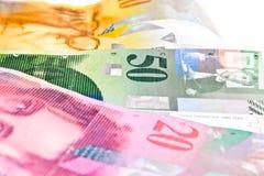 瑞士法郎 免版税库存照片