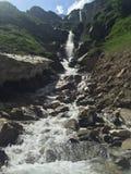 瑞士瀑布 库存图片