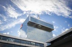 瑞士电视和收音机RTS 免版税库存图片