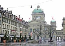 瑞士的联邦宫殿 图库摄影