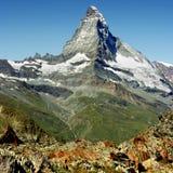 瑞士的阿尔卑斯 免版税图库摄影