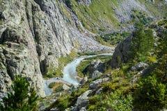 瑞士的阿尔卑斯 免版税库存照片
