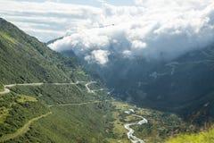 瑞士的阿尔卑斯 图库摄影