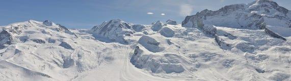 瑞士的阿尔卑斯 库存图片