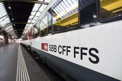 瑞士联邦铁路, SWIZERLAND 库存图片