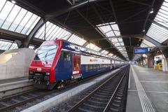 瑞士联邦铁路, SWIZERLAND 免版税库存图片