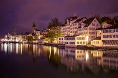 瑞士苏黎士 库存图片