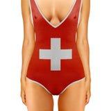 瑞士身体 免版税库存照片