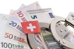 瑞士银行帐户 图库摄影