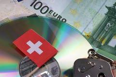 瑞士银行帐户 免版税库存图片