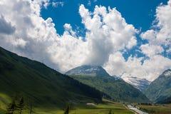 瑞士阿尔卑斯 免版税库存图片