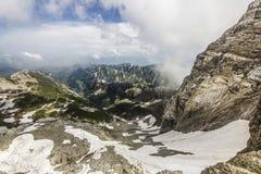 瑞士阿尔卑斯 库存图片