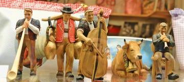 瑞士雕塑 免版税库存图片