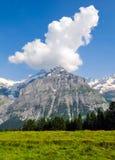 瑞士风景, Bernese Oberland 图库摄影