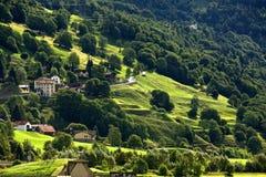 瑞士风景 图库摄影