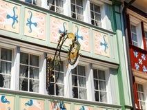 瑞士,阿彭策尔 免版税库存图片