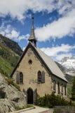 瑞士,高山教会 库存图片