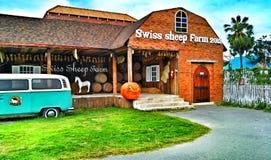 瑞士绵羊农场,华欣泰国 图库摄影