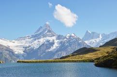 瑞士Bernese阿尔卑斯 图库摄影