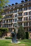 瑞士vevey 免版税图库摄影